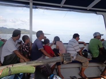 Suasana di atas Kapal :)